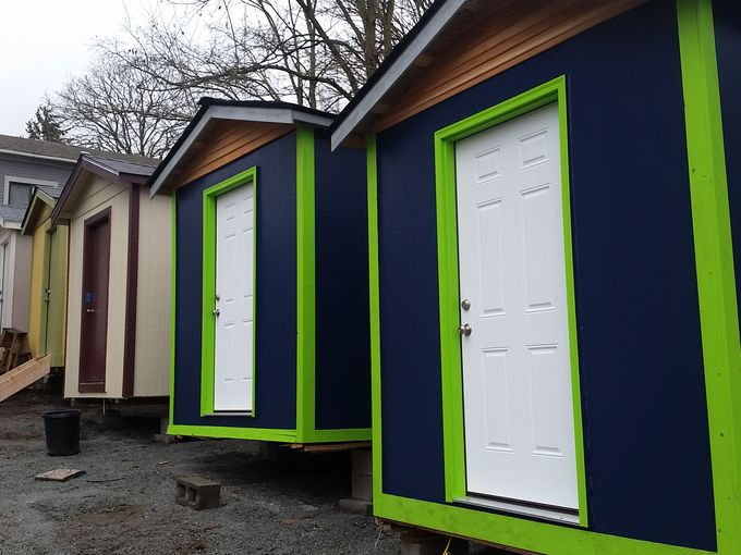 Tiny house village for homeless taking shape in Seattle KGWcom