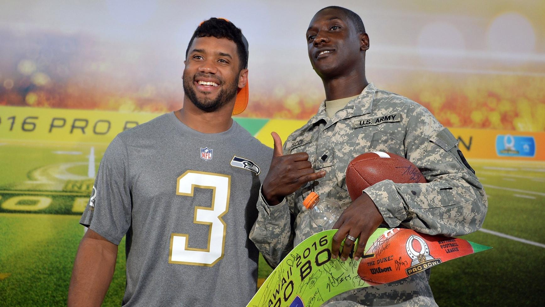 Seahawks QB Russell Wilson picked 1st in Pro Bowl Draft | kgw.com
