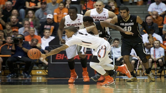 Payton leads Beavs past Colorado 60-56