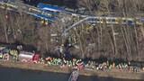 Photos: Train crash in Germany