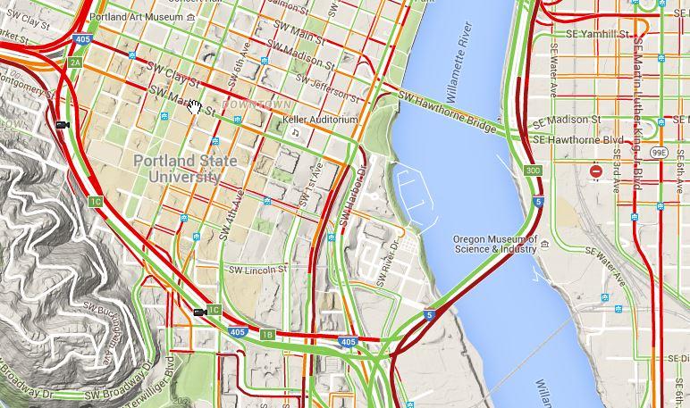 bridge closures continue around portland metro area kgw