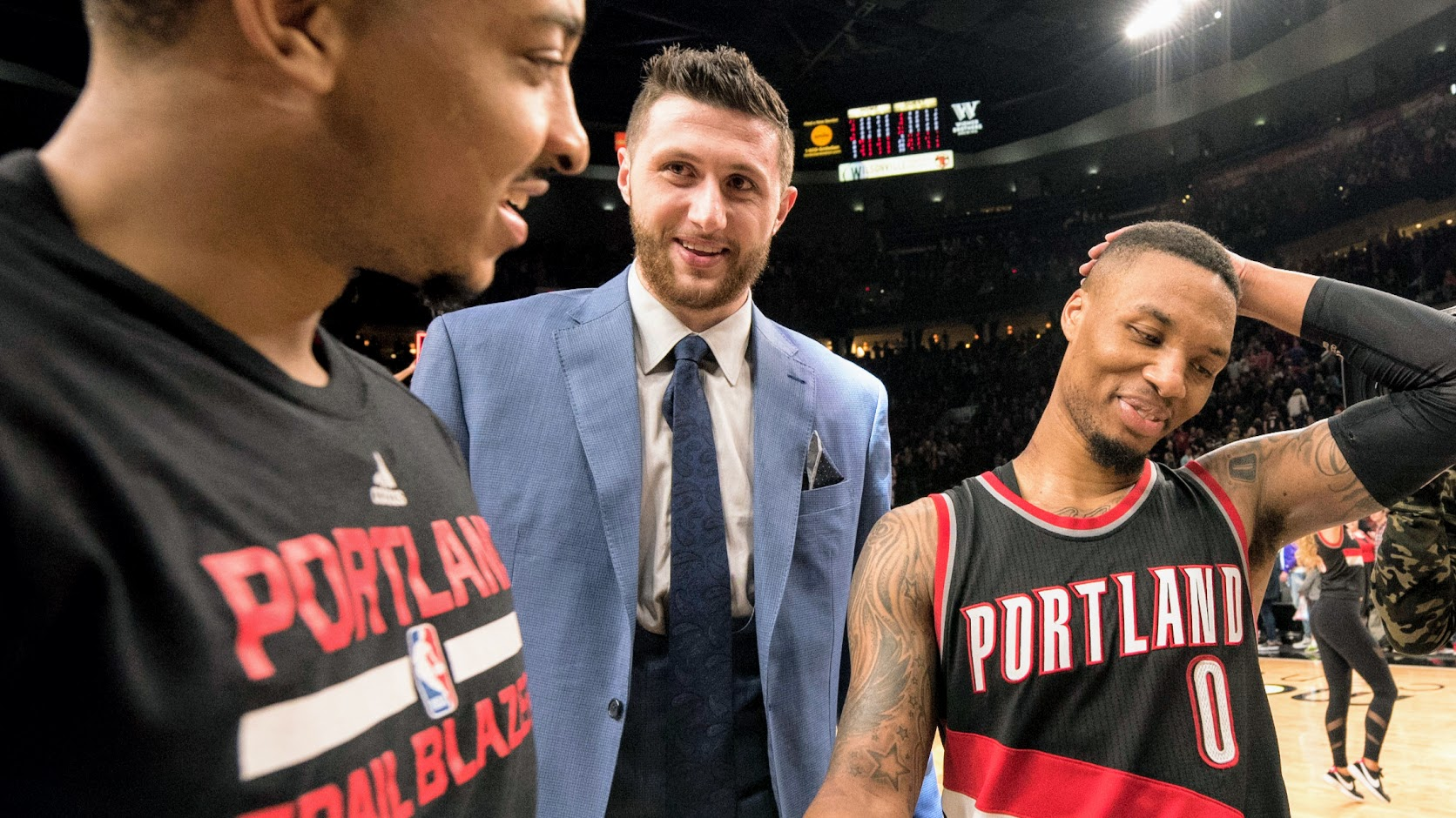 Barkley: Blazers will win 'at least' two games against Warriors ...